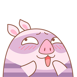 Piggy Boom messages sticker-2