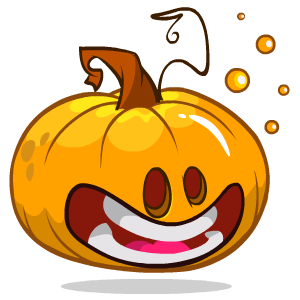 Pumpkin Stickers messages sticker-5
