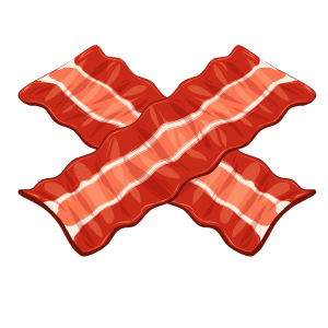 Bacon Stickers messages sticker-6