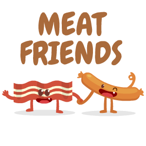 Bacon Stickers messages sticker-3