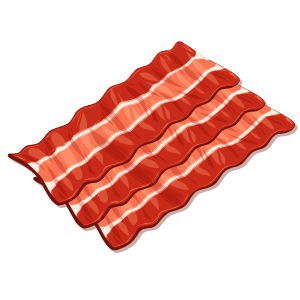 Bacon Stickers messages sticker-5