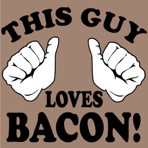 Bacon Stickers messages sticker-1