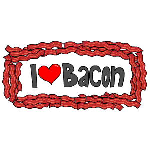 Bacon Stickers messages sticker-2