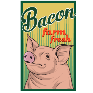 Bacon Stickers messages sticker-8