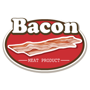 Bacon Stickers messages sticker-10