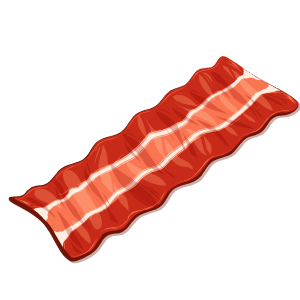 Bacon Stickers messages sticker-4