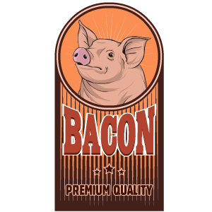 Bacon Stickers messages sticker-9