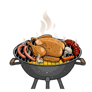 BBQ Sticker messages sticker-3