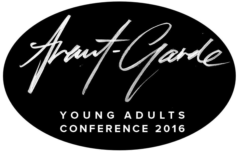 Avant Garde Conference messages sticker-0