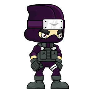 Pocket Ninja - Stickers messages sticker-1