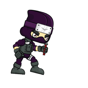 Pocket Ninja - Stickers messages sticker-0