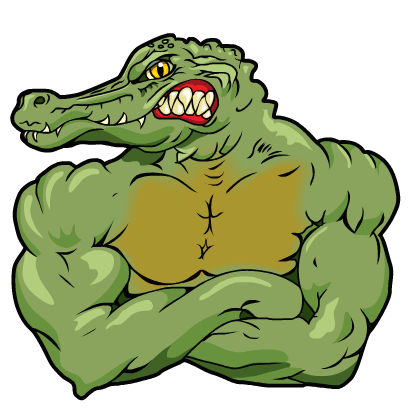 Gator Stickers messages sticker-10