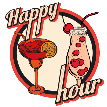 Happy Hour Stickers messages sticker-4