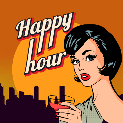 Happy Hour Stickers messages sticker-3