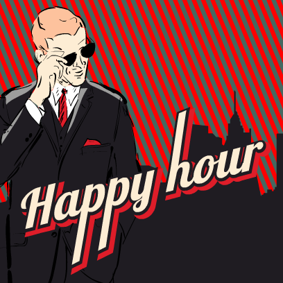 Happy Hour Stickers messages sticker-2