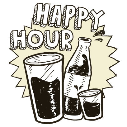 Happy Hour Stickers messages sticker-9