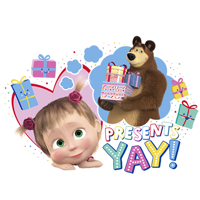 Masha and the Bear Toy Jam Day messages sticker-11