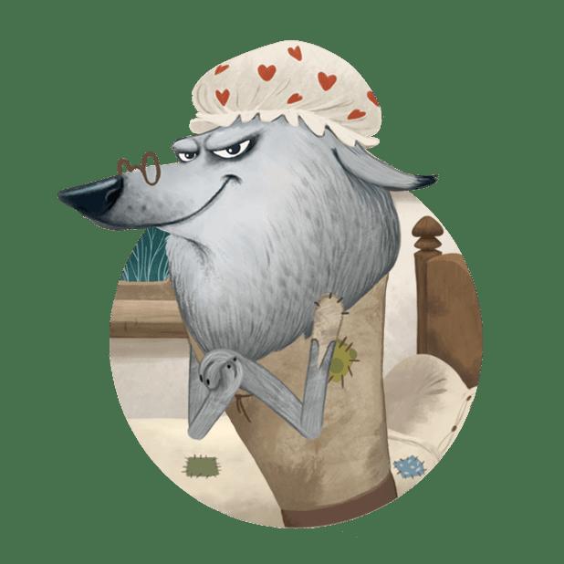 Kids'Corner: interactive tales for kids messages sticker-9