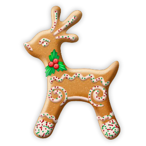 Christmas Cookie Stickers messages sticker-5