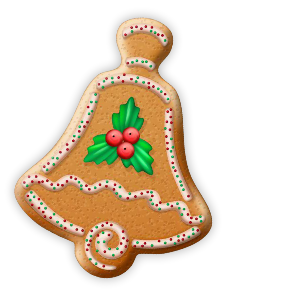 Christmas Cookie Stickers messages sticker-2