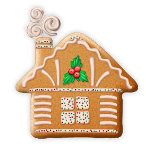 Christmas Cookie Stickers messages sticker-3