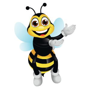 Bee Stickers messages sticker-7