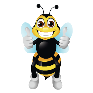 Bee Stickers messages sticker-5