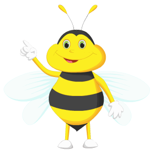 Bee Stickers messages sticker-3