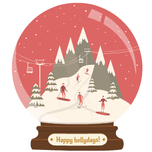 Snow Globe Stickers messages sticker-11