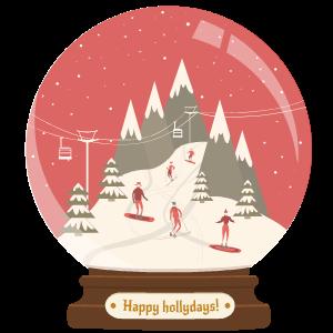 Snow Globe Stickers messages sticker-11