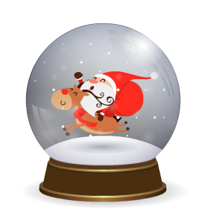 Snow Globe Stickers messages sticker-7