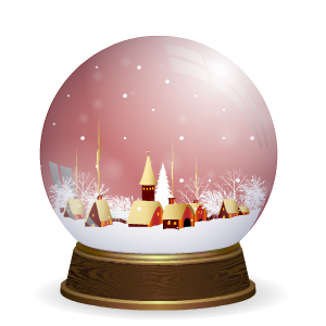 Snow Globe Stickers messages sticker-6
