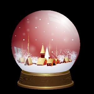 Snow Globe Stickers messages sticker-6