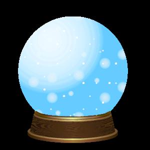 Snow Globe Stickers messages sticker-10