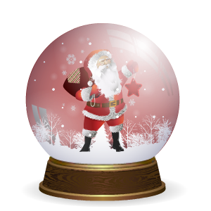 Snow Globe Stickers messages sticker-3