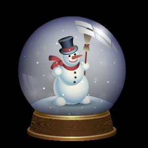 Snow Globe Stickers messages sticker-1