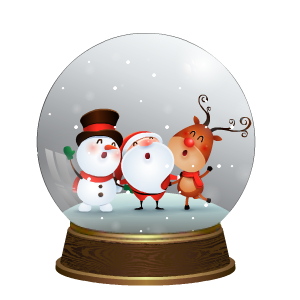 Snow Globe Stickers messages sticker-4