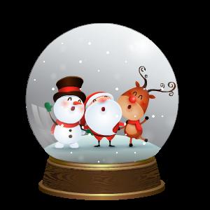 Snow Globe Stickers messages sticker-4