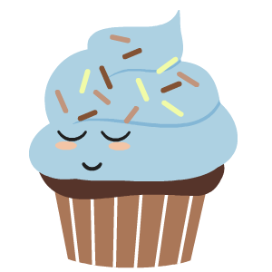 Cupcake Stickers messages sticker-3