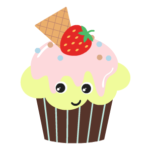 Cupcake Stickers messages sticker-5