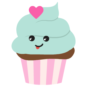 Cupcake Stickers messages sticker-1