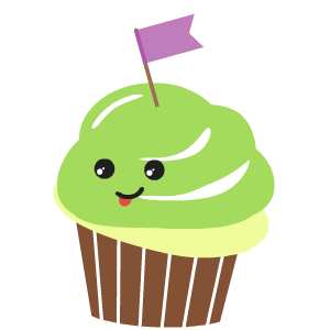 Cupcake Stickers messages sticker-8