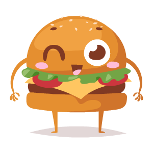 Fast Food Stickers messages sticker-5