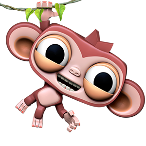 Dare the Monkey: Go Bananas! messages sticker-2