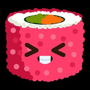 Kawaii Sushi messages sticker-6