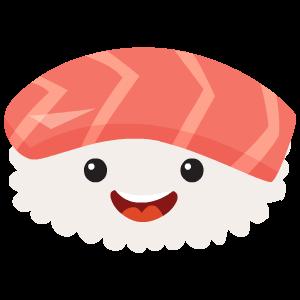 Kawaii Sushi messages sticker-0