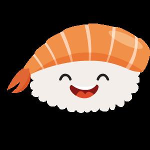 Kawaii Sushi messages sticker-10