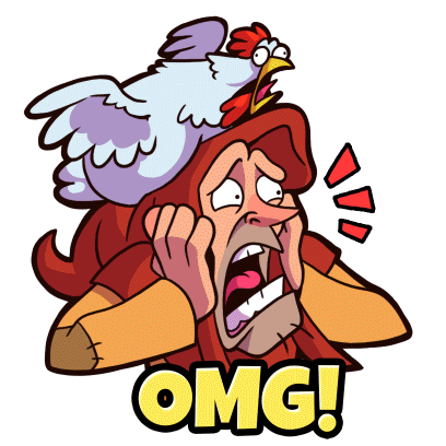 What The Hen: Enter Dragons! messages sticker-3