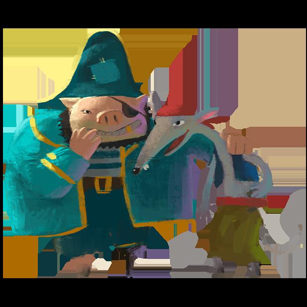 Волшебный Фонарь: Сказки Детям messages sticker-9
