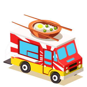 Food Truck Stickers messages sticker-6